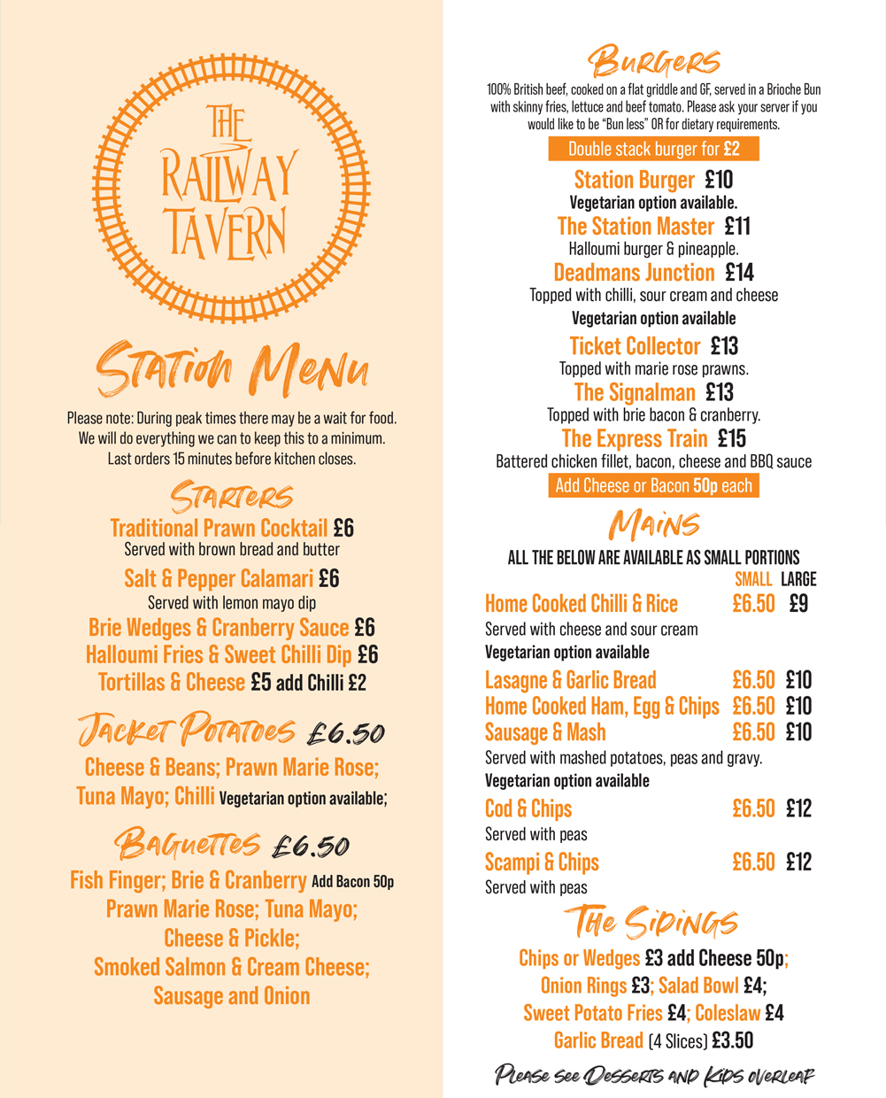 The Railway Tavern - Real Ales Real Food